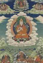 A Thangka of Tsongkhapa