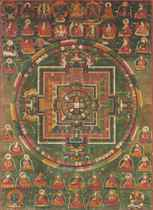 A Painting of Vairochana Mandala