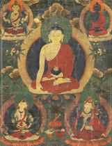 A Painting of Buddha Shakyamuni