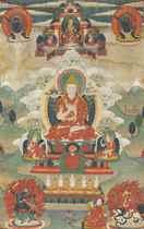 A Painting of Tsongkhapa