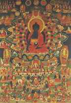 A Painting of the Medicine Buddha