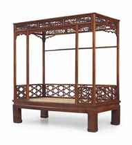 A SIX-POST HUANGHUALI CANOPY BED, JIAZICHUANG