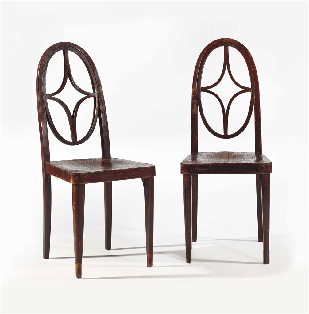 Thonet paire de chaises vers 1910 1910s furniture for Chaise thonet