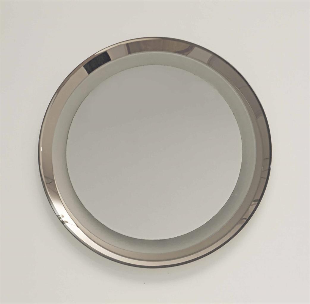 Fontana arte miroir circulaire le modele cree vers 1958 for Miroir circulaire