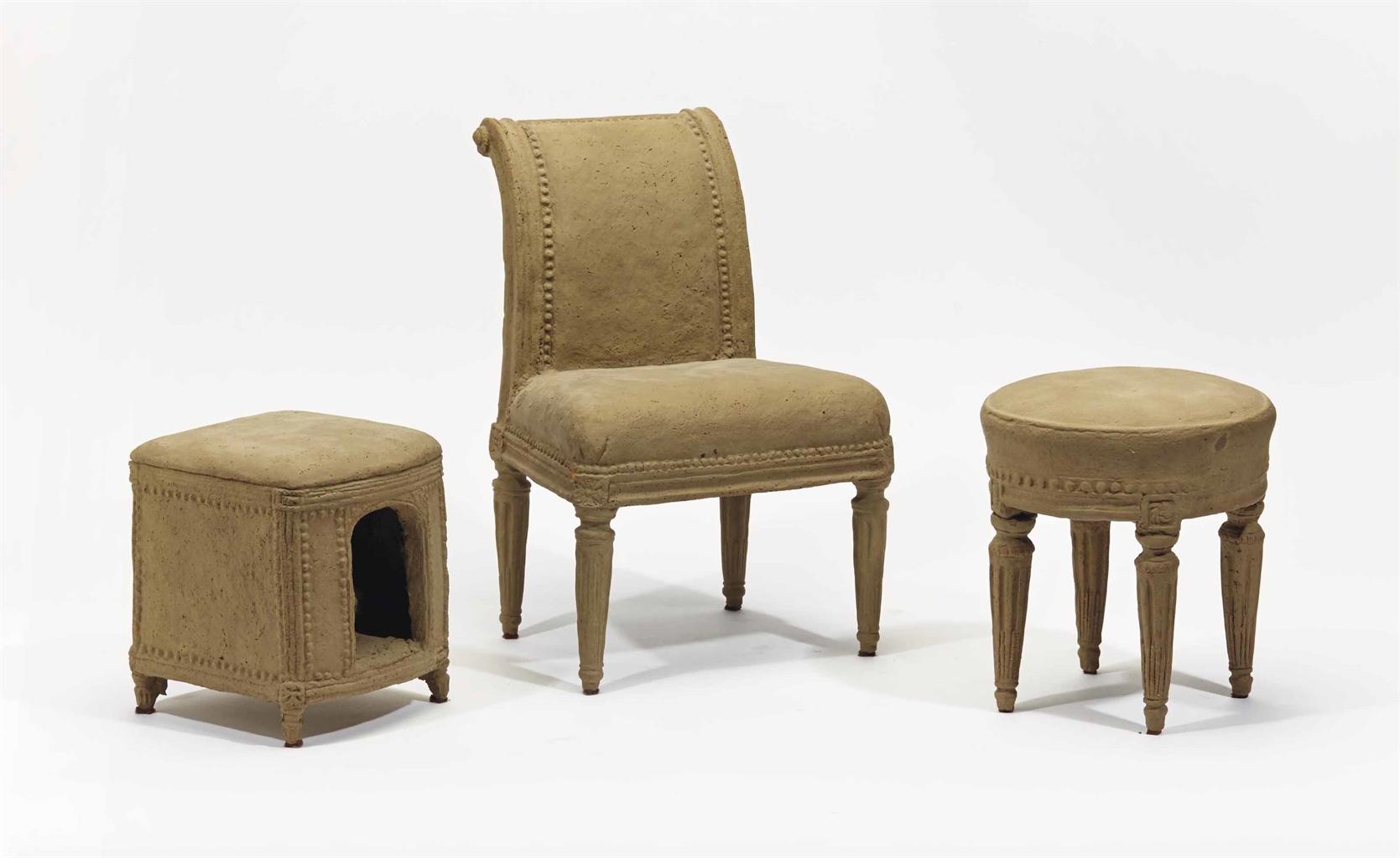Trois modeles de meuble de style louis xvi xxeme siecle - Meuble style louis xvi ...