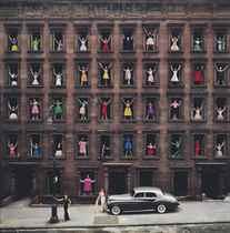 Girls in the Windows, New York City, 1960