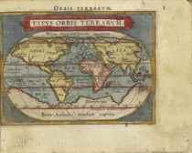 ORTELIUS, Abraham (1527-1598) Epitome Theatri Orteliani Antw