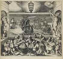 JANSSONIUS, Joannes (1588-1664) Le Flambeau de la Navigation