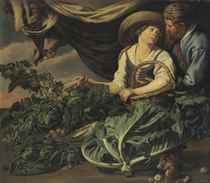 Adriaen Van Utrecht (Antwerp 1599-1652) and Theodoor Rombout
