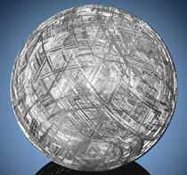 MUONIONALUSTA METEORITE CRYSTAL BALL — DRAMATIZING THE CRYST