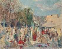 The market place, Marrakech