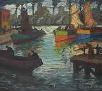 Llegada de pescadores