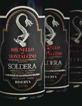 Soldera, Case Basse Brunello di Montalcino  Riserva 1990 Bin-soiled labels. Levels base of neck (10) 1991 Bin-soiled labels. Levels base of neck (2)
