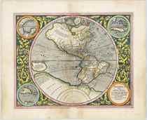 MERCATOR, Michael (ca 1567-1600) America sive India Nova [Am