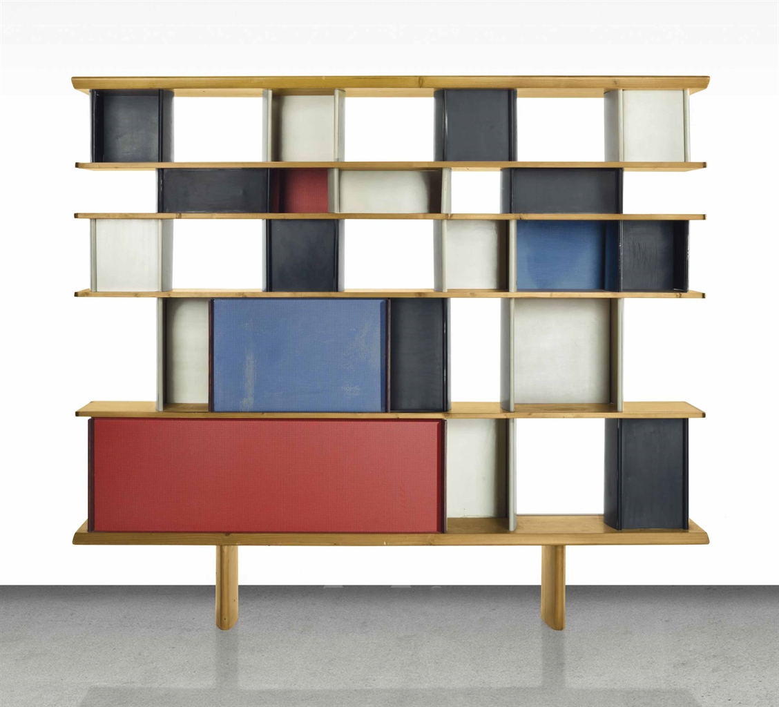 charlotte perriand 1903 1999 a 39 mexique 39 bibliotheque. Black Bedroom Furniture Sets. Home Design Ideas