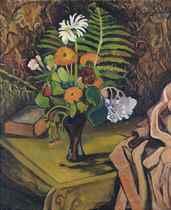 Vase de fleurs sur une table