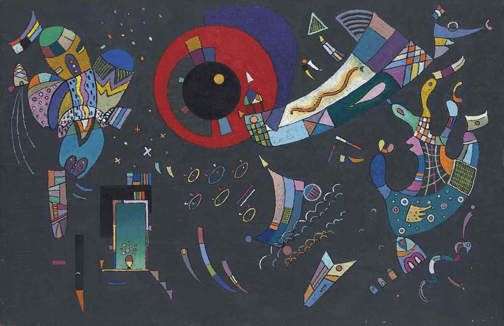 Wassily Kandinsky (1866–1944), Esquisse pour Autour du cercle, 1940. Oil on panel. 15 ½ x 23 ⅝ in. (39.4 x 60 cm.) Estimate £1,500,000–2,500,000. This work is offered in the Impressionist & Modern Art Evening Sale on 22 June at Christie's in London
