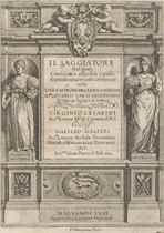 GALILEI, Galileo (1564-1642) Il saggiatore Rome: Giacomo Mas