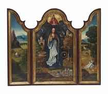 Triptyque de la Vierge des Litanies