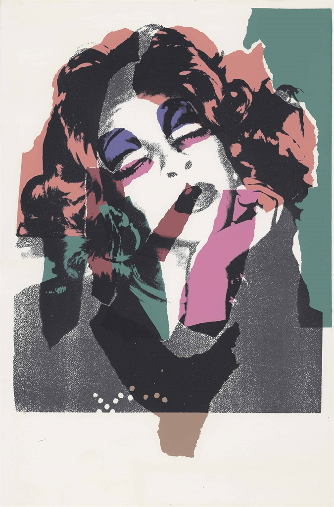 Andy Warhol (1928-1987), Ladies and Gentlemen. Image 975 x 682 mm, Sheet 1,108 x 732 mm. Estimate £3,000-5,000. This lot is offered in Prints & Multiples on 21 September 2016 at Christie's in London, King Street