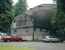 Rear view, open air theatre, Vancouver, 2005