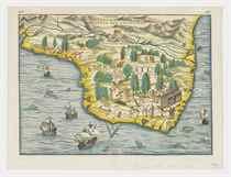 RAMUSIO, Giovanni Battista (1485-1557) Brasil [Venice: Giunt