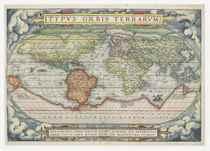 ORTELIUS, Abraham (1527-1598) Typus Orbis Terrarum [Antwerp: