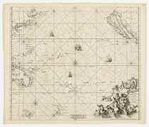 WIT, Frederick de (1629/1630-1706) Magnum Mare del Zur cum I