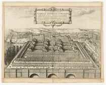 HOLLAR, Wenceslaus (1607-1677) Scenographica totius Templi H