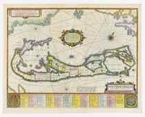 HONDIUS, Henricus (1597-1651) Mappa Aestivarum Insularum, al