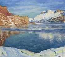 Lago che gela, 1933