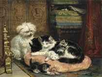 Henriëtte Ronner-Knip (Dutch, 1821-1909)