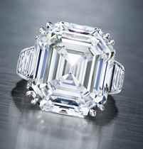 A DIAMOND RING, BY OSCAR HEYMAN & BROTHERS