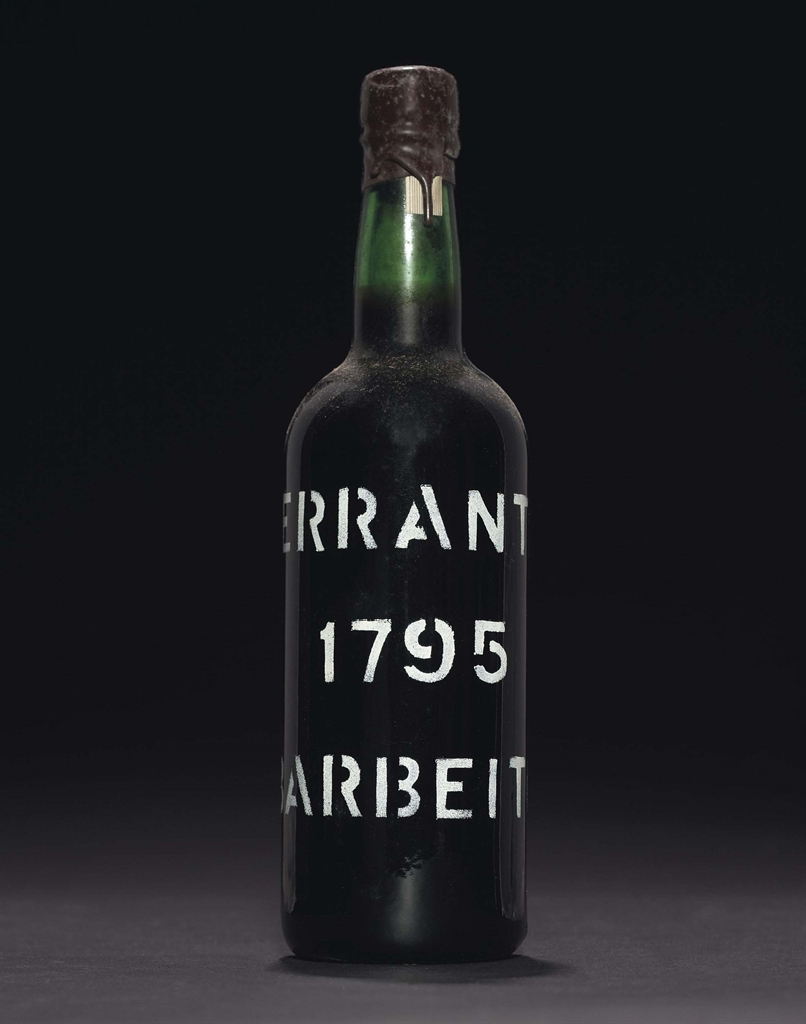 Barbeito, Terrantez 1795. 2 bottles per lot. This lot was offered in Finest and Rarest Wines and Spirits on 9 December 2016 at Christie's in New York, Rockefeller Plaza, and sold for $19,600
