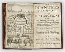 COTTON, Charles (1630-1687) The Planters Manual: Being Instr