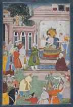 THE EMPEROR AKBAR IS PETITIONED BY A COURTIER