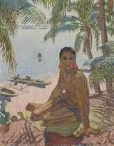 Femme de l'île Oualan, Carolines