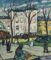 Scène de rue, Paris