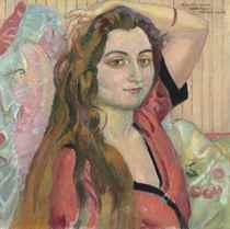 Portrait d'Odette Frizac