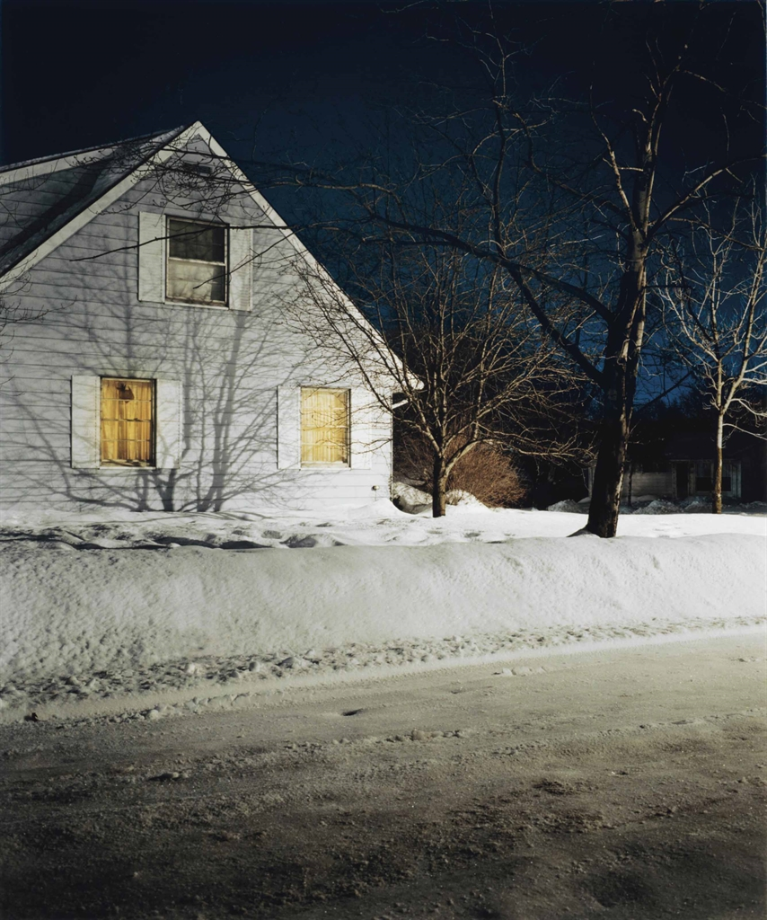 Todd Hido (b.  1968), #2421, 1999. Signed, titled, dated and numbered 610 in pencil on affixed artists label (frame backing board), imagesheetflush mount 24½ x 20½ in (62.3 x 52.1 cm). Estimate $3,000-5,000. This lot is offered in Photographs Including Property Sold to Benefit the Elton John AIDS Foundation on 6 April 2017, at Christie's in New York