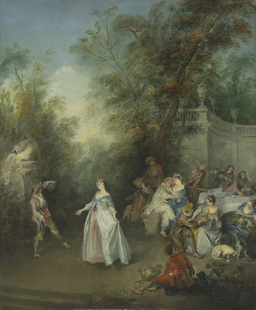 Nicolas Lancret (Paris 1690-1743), Autumn. Oil on canvas, 44⅝ x 36¾ in (113.3 x 93.4 cm). Estimate $2,000,000-4,000,000. This lot is offered in Old Masters on 27 April 2017, at Christie's in New York