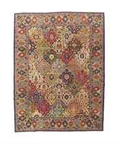 A TABRIZ CARPET OF SAFAVID DESIGN
