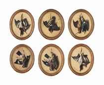 A group of six trompe l'oeil: A successful hunt
