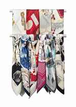 A COLLECTION OF TEN SCARVES