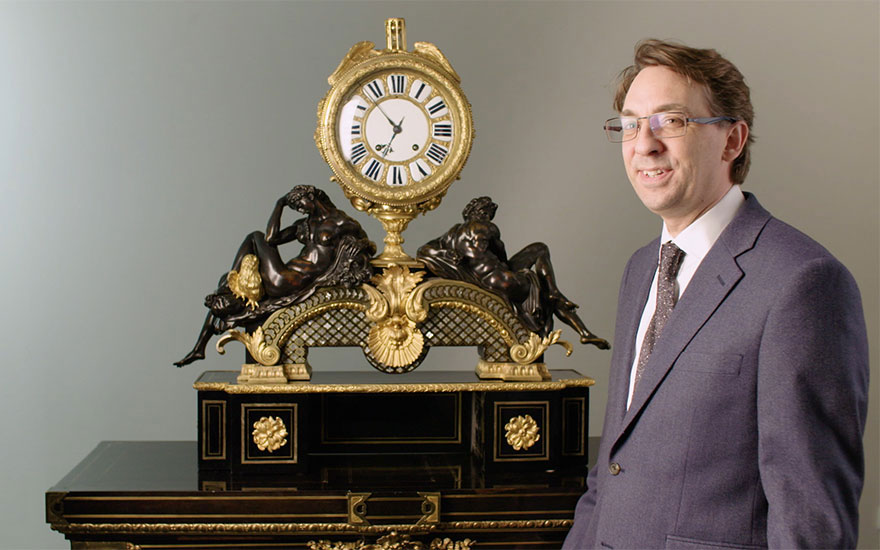 The peak of opulent French clockmaking