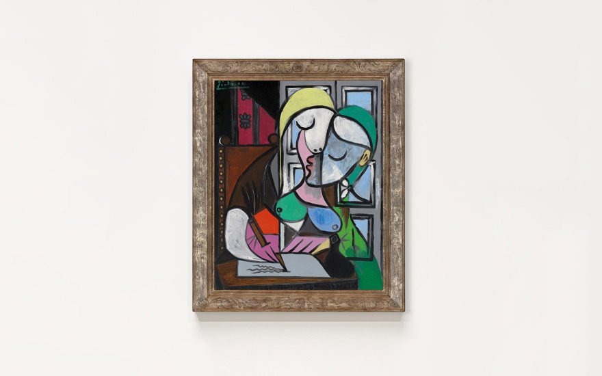 Picasso's blissful vision