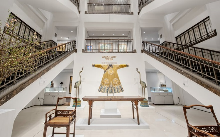 Virtual tour: Asian Art Week a auction at Christies