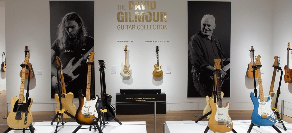 Virtual tour: The David Gilmour Guitar Collection