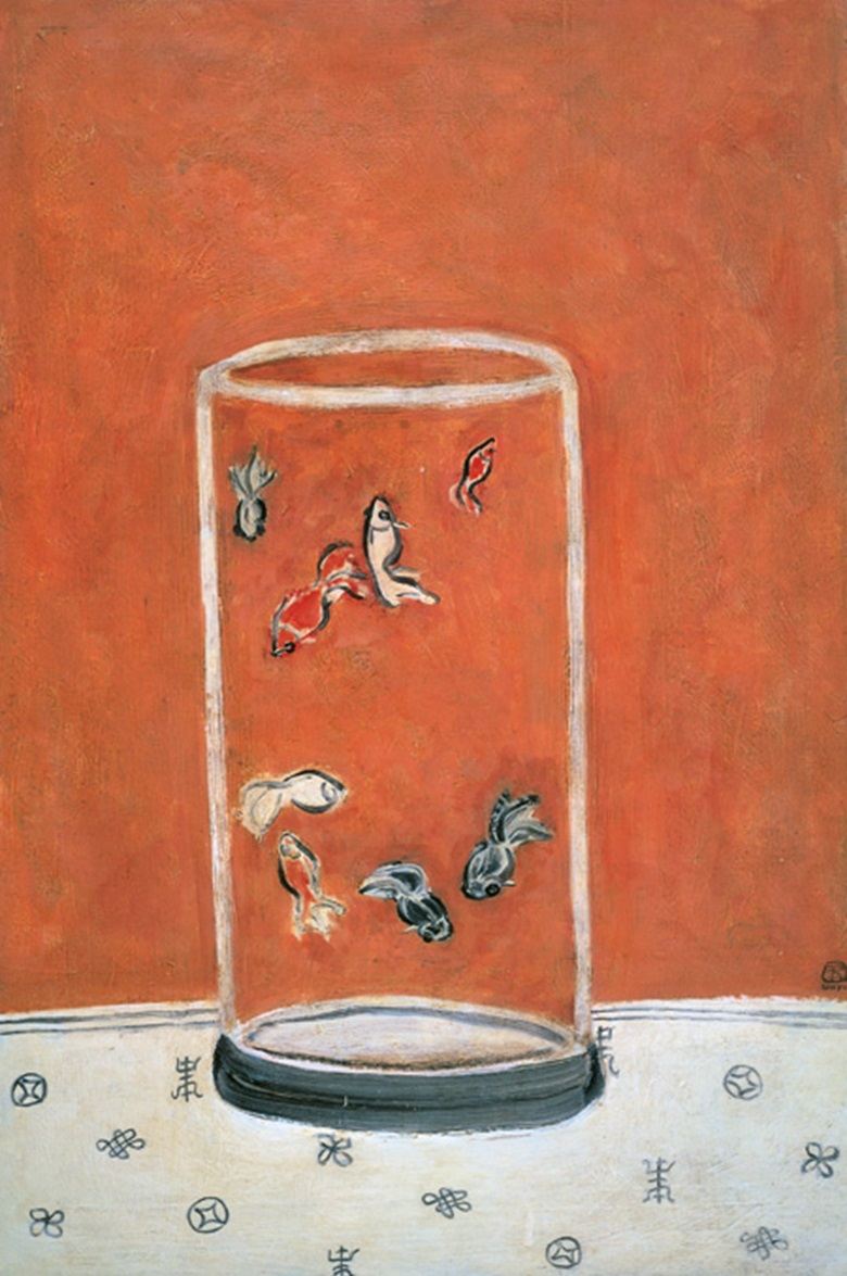 Sanyu, Goldfish, executed in the 1930s or 1940s. Photo © The Li Ching Foundation, Taipei.