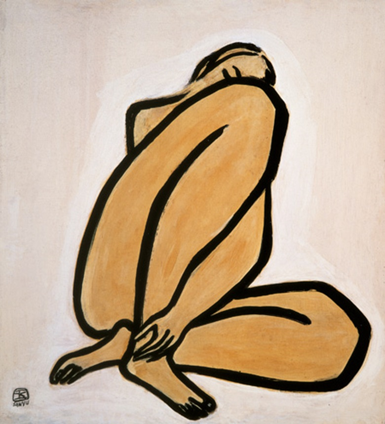 Sanyu, Nude, executed in the 1950s. Photo © The Li Ching Foundation, Taipei.